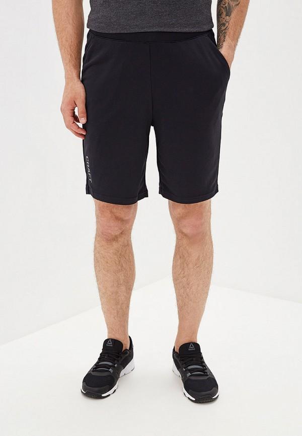 мужские спортивные шорты craft, черные