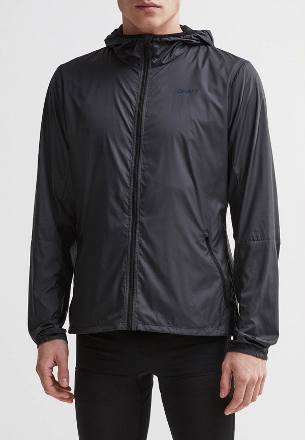 мужская куртка craft, черная