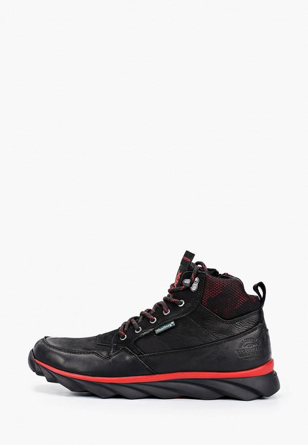мужские высокие ботинки shoiberg, черные