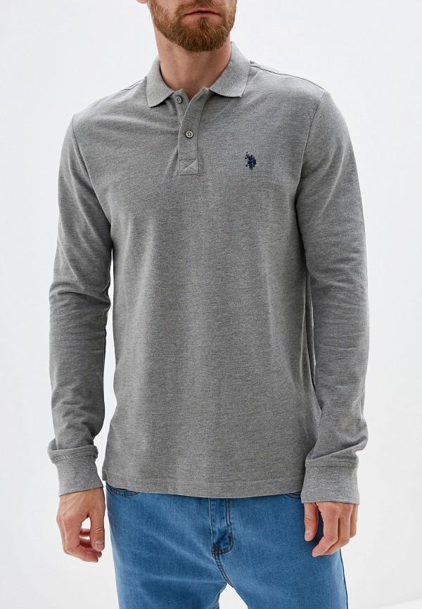 Поло U.S. Polo Assn. U.S. Polo Assn. MP002XM1UFMB поло мужское u s polo assn цвет серый g081gl0110gtp04iy6 xx7460 размер xs 42 44