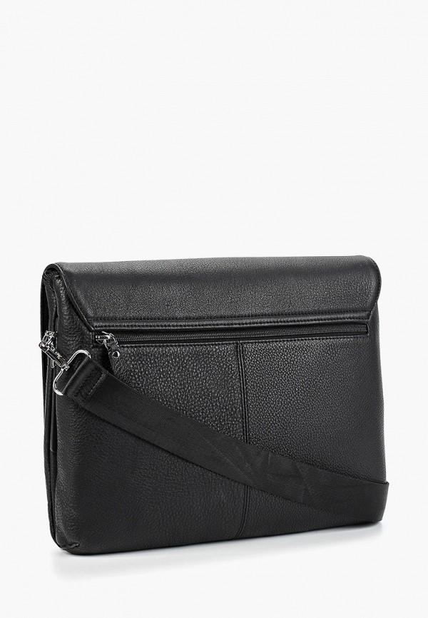 Фото 5 - Мужскую сумку Dor.Flinger черного цвета