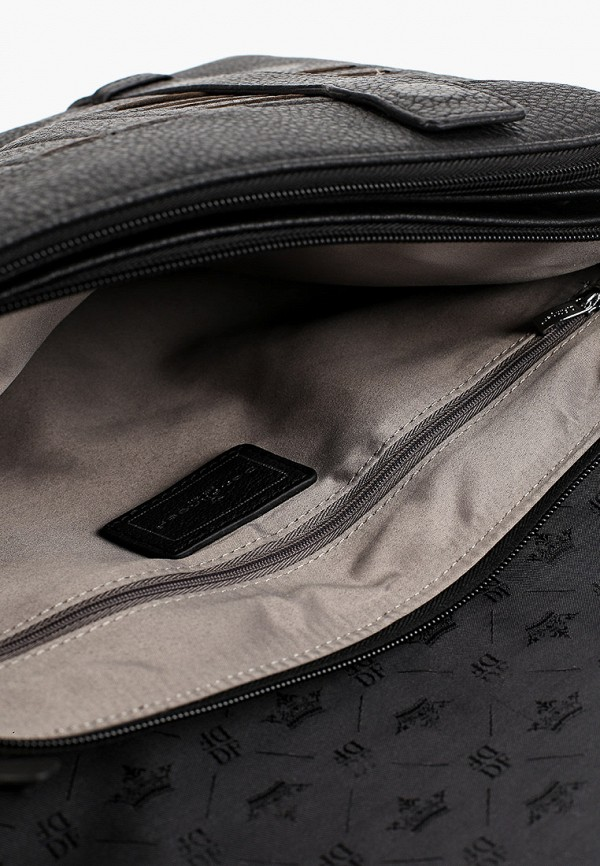 Фото 6 - Мужскую сумку Dor.Flinger черного цвета