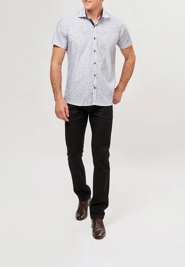 Фото 2 - Мужскую рубашку Paspartu белого цвета