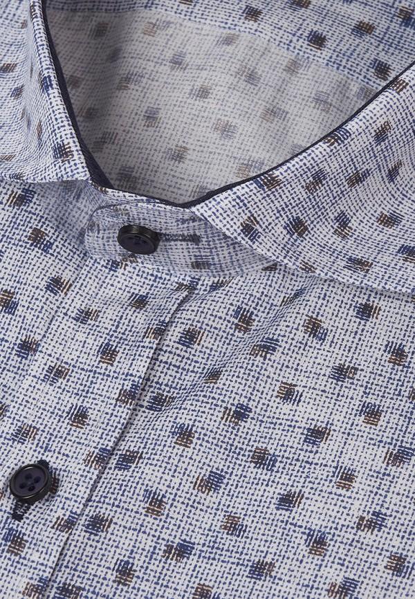 Фото 4 - Мужскую рубашку Paspartu голубого цвета