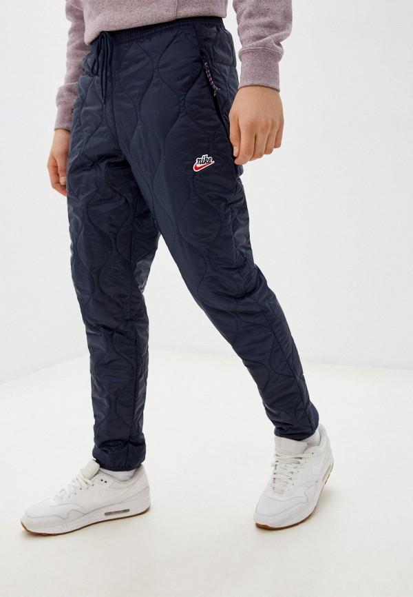 мужские брюки nike, синие