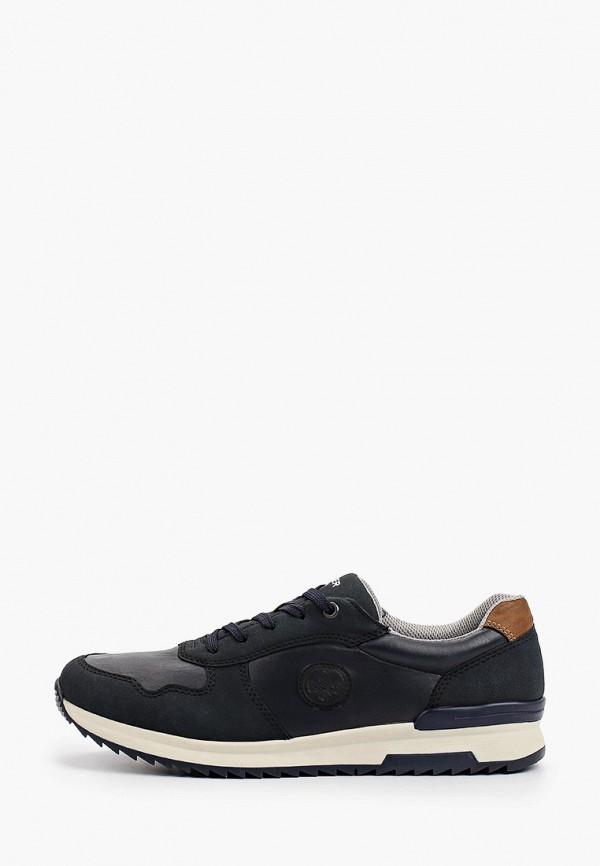 мужские низкие кроссовки rieker, синие