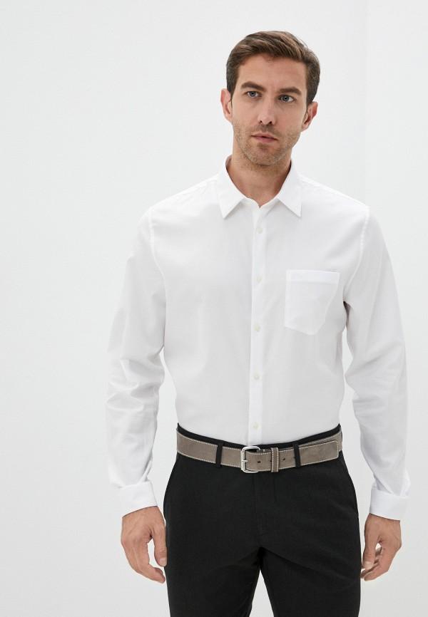 Рубашка Lacoste белого цвета