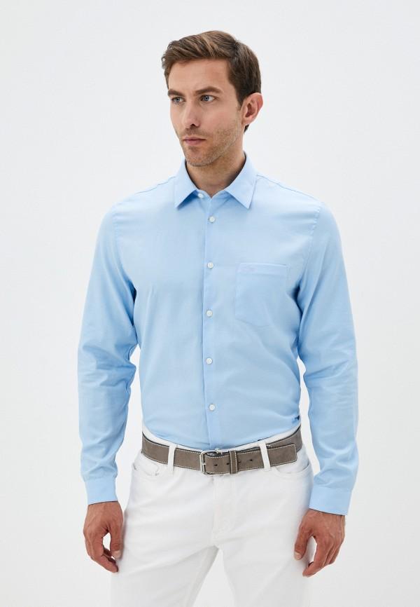 Рубашка Lacoste голубого цвета