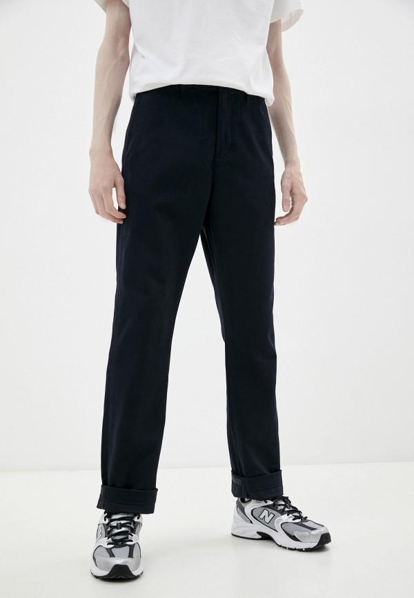 мужские брюки чинос lacoste, синие