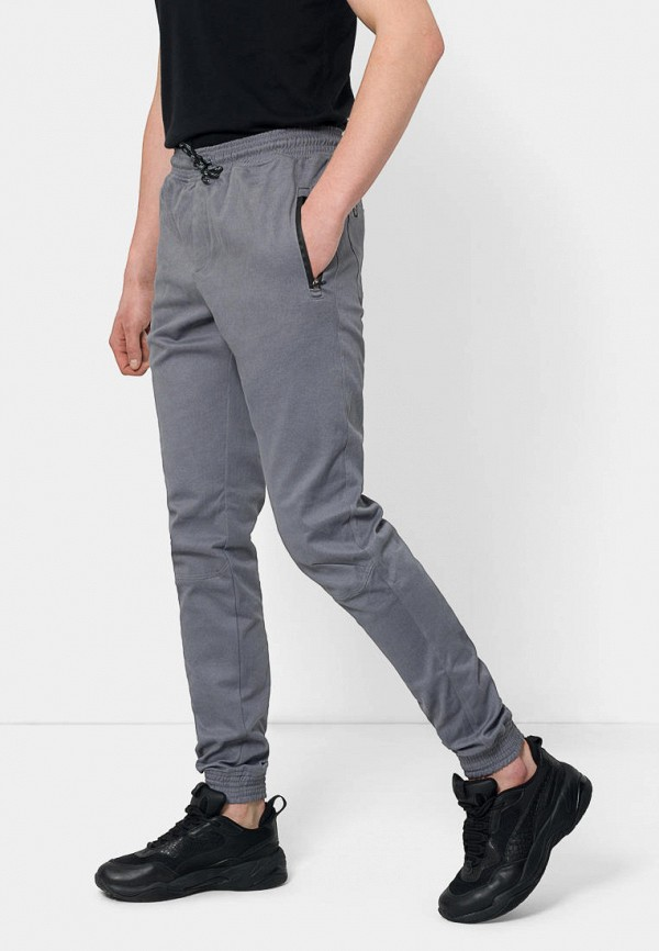 мужские брюки bezet, серые