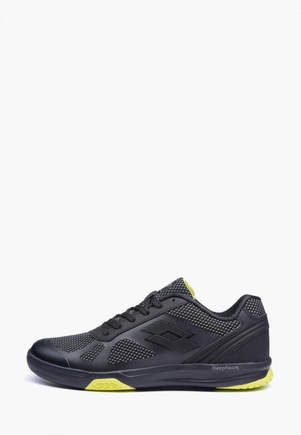 мужские кроссовки lotto, черные