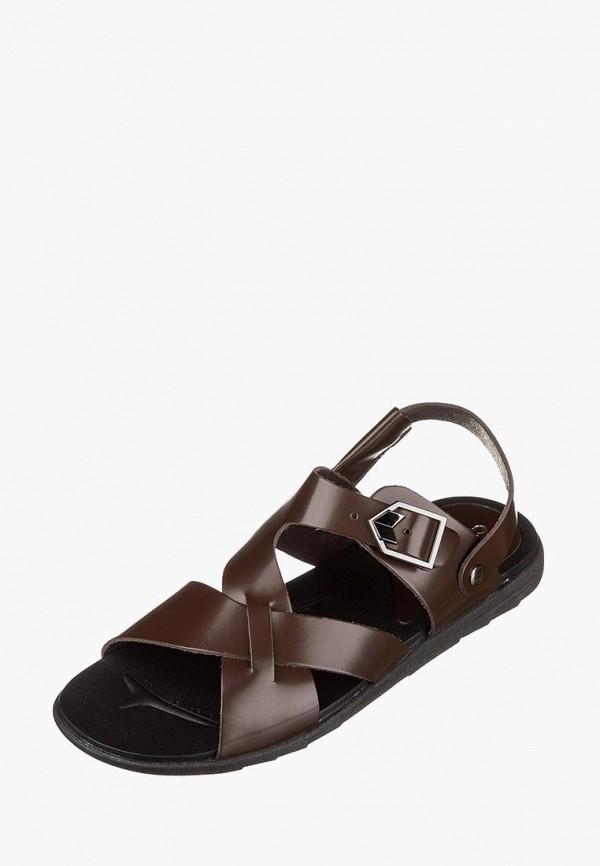 мужские сандалии casual, коричневые