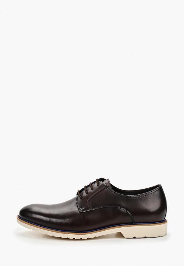 мужские туфли la biali, коричневые