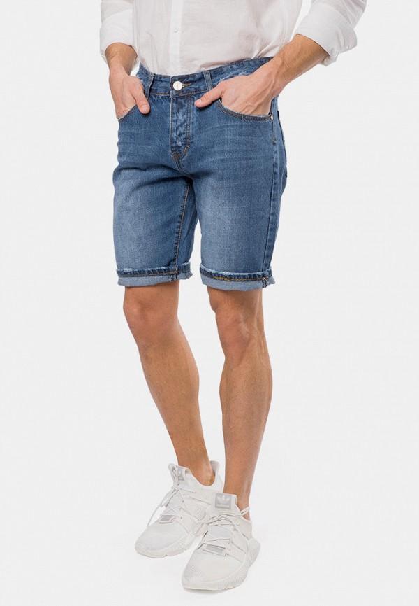 мужские джинсовые шорты mr520, голубые