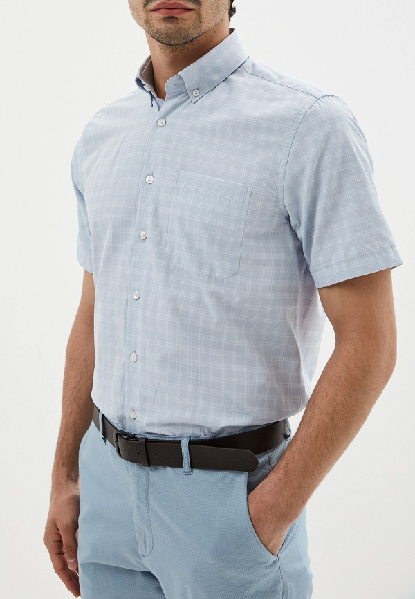 Фото - Мужскую рубашку LC Waikiki голубого цвета