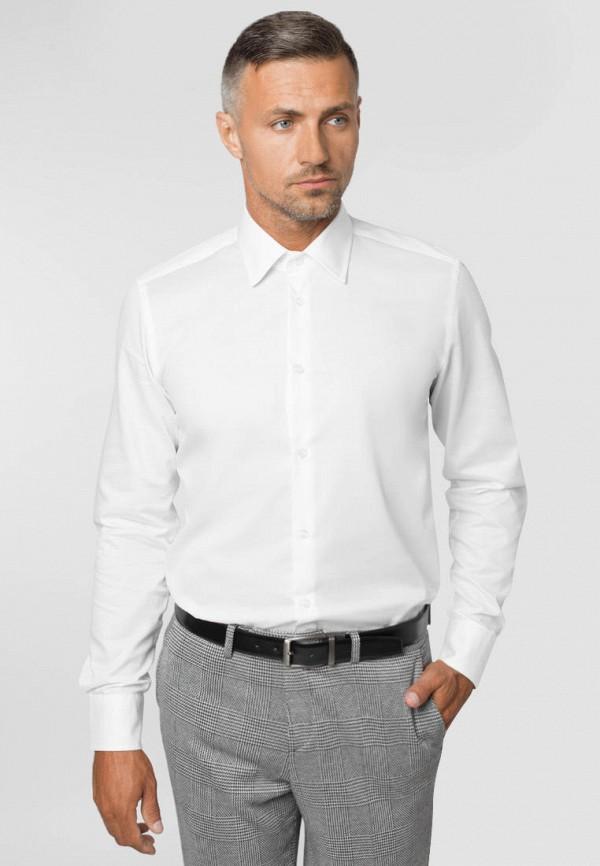 мужская рубашка с длинным рукавом gregory arber, белая