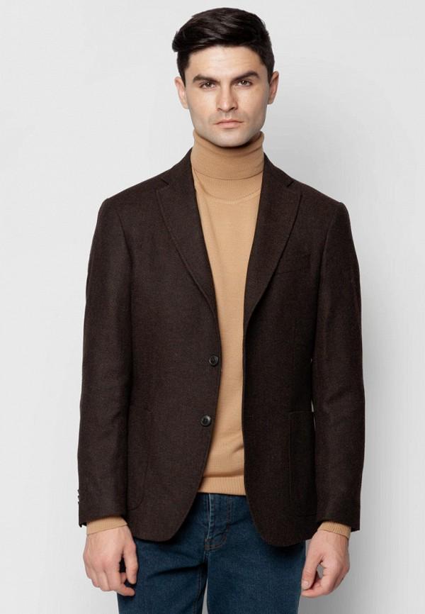 мужской пиджак arber, коричневый