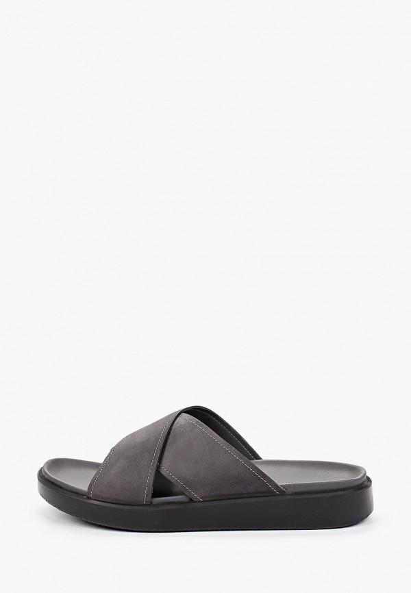 мужские сандалии ecco, серые