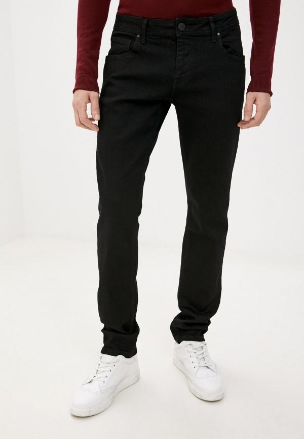 мужские зауженные джинсы whitney, черные