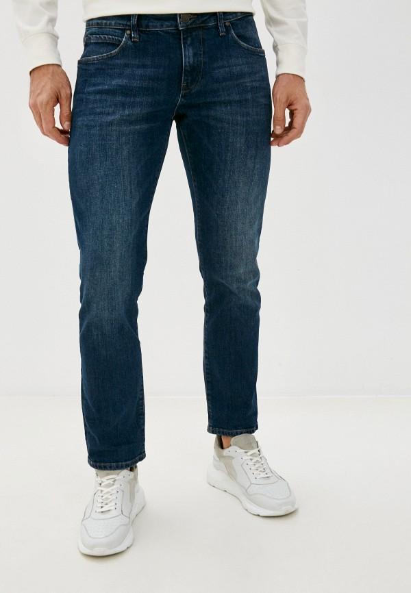 мужские зауженные джинсы whitney, синие