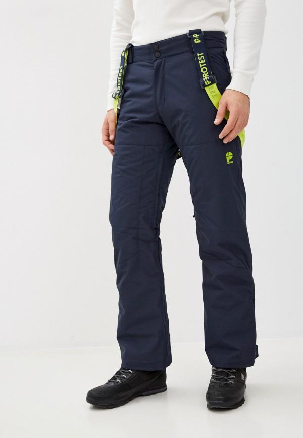 мужские горнолыжные брюки protest, синие