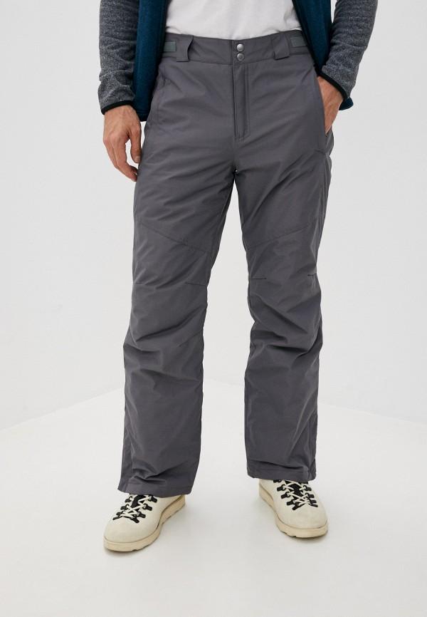 мужские горнолыжные брюки columbia, серые