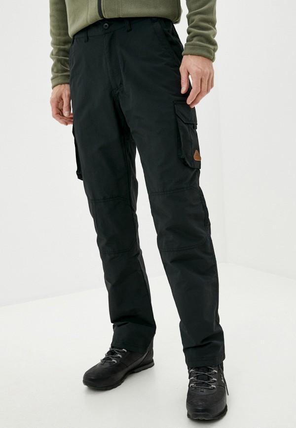 мужские утепленные брюки tenson, черные