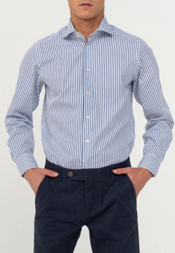 мужская рубашка с длинным рукавом camicissima, синяя