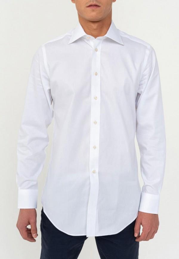 мужская рубашка с длинным рукавом camicissima, белая