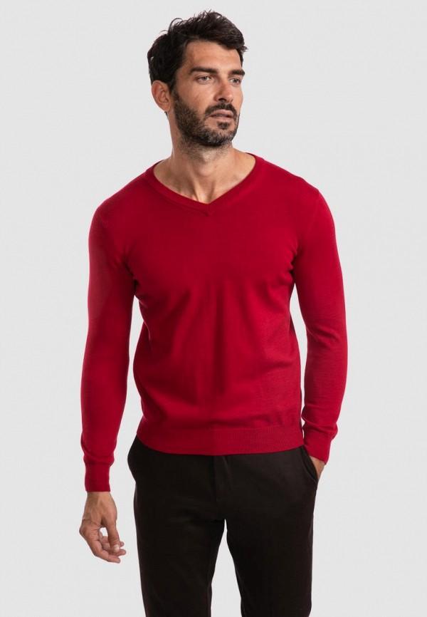 Пуловер Kanzler красного цвета