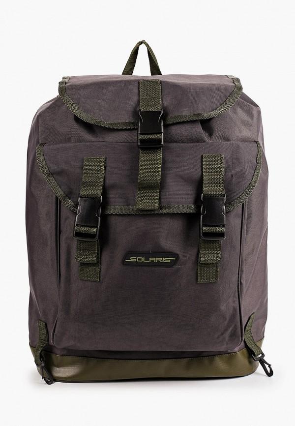 мужской рюкзак solaris, серый
