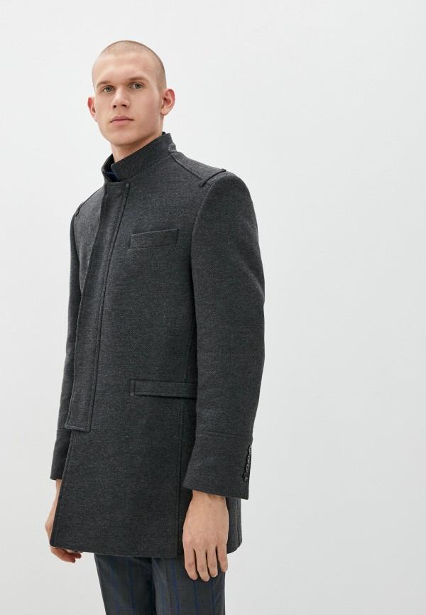 Пальто Absolutex серого цвета