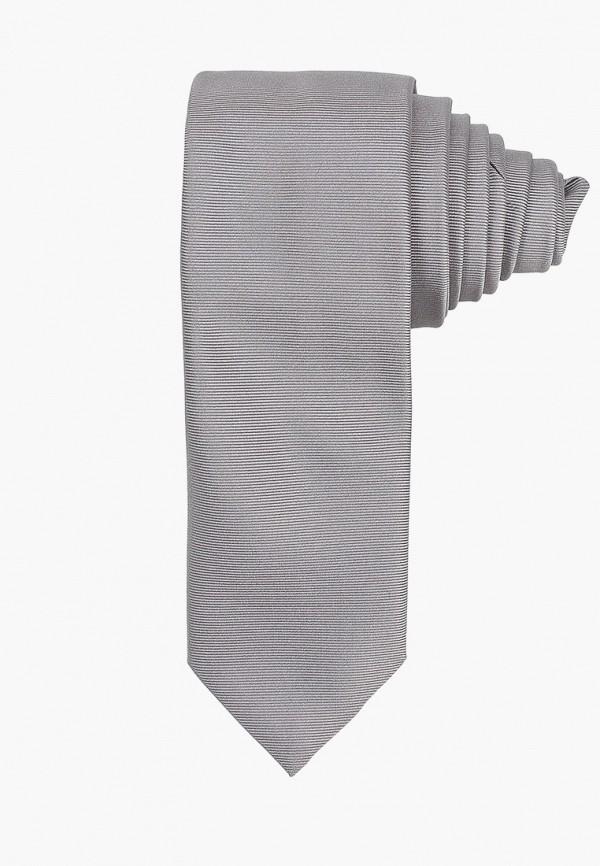 мужские галстуки и бабочки hugo, серые