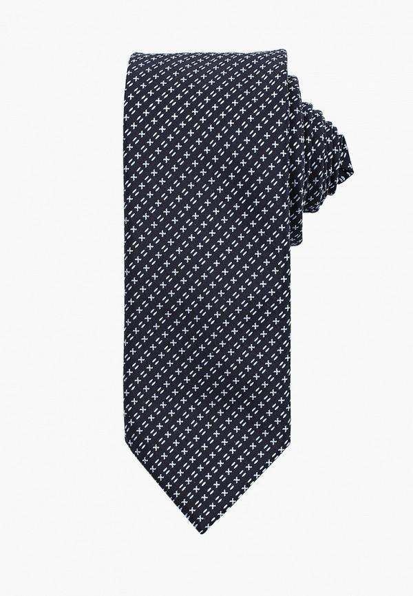 мужские галстуки и бабочки hugo, синие