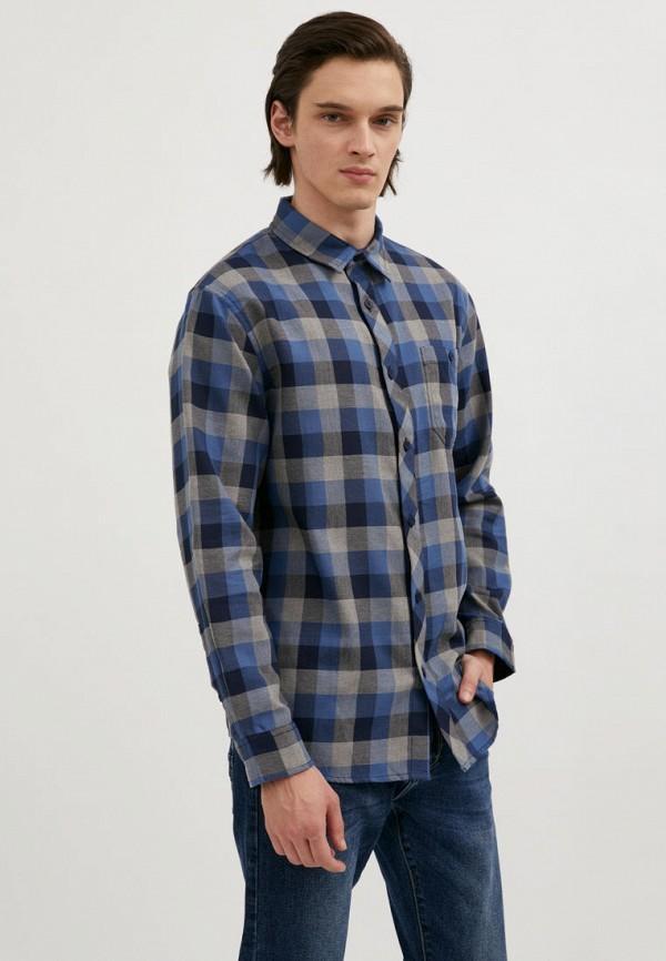 мужская рубашка с длинным рукавом finn flare, разноцветная