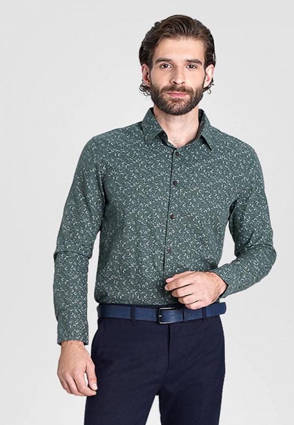 мужская рубашка с длинным рукавом o'stin, хаки