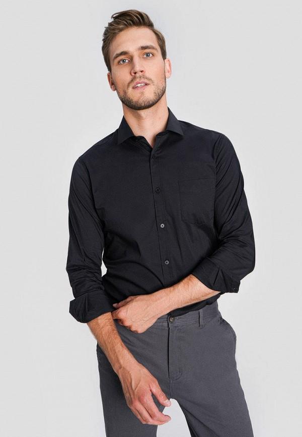 мужская рубашка с длинным рукавом o'stin, черная