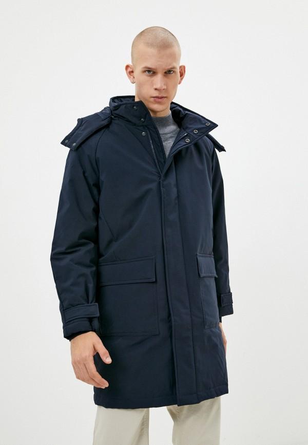 мужская утепленные куртка finn flare, синяя