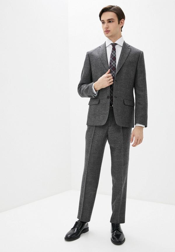 мужской костюм bazioni, серый