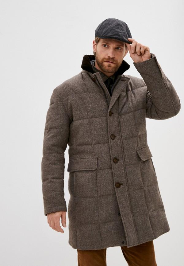 мужская утепленные куртка bazioni, бежевая