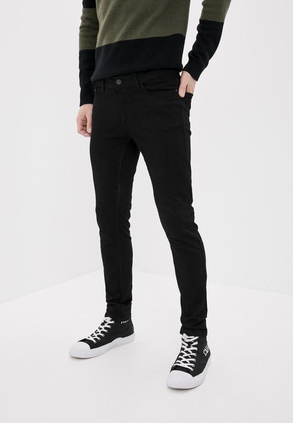 мужские зауженные джинсы defacto, черные