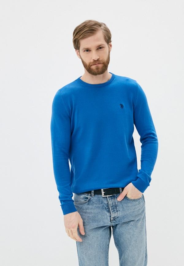мужской джемпер u.s. polo assn, синий
