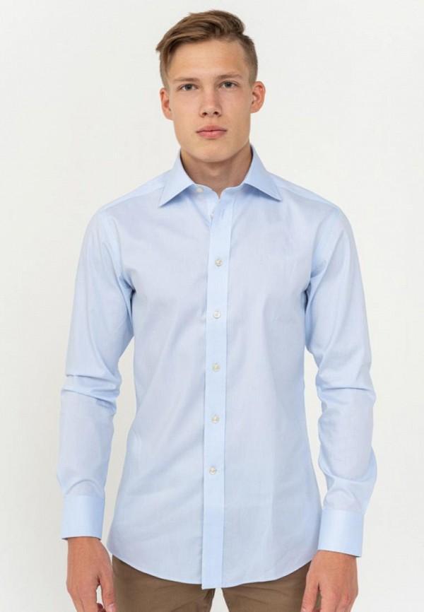 мужская рубашка с длинным рукавом camicissima, голубая