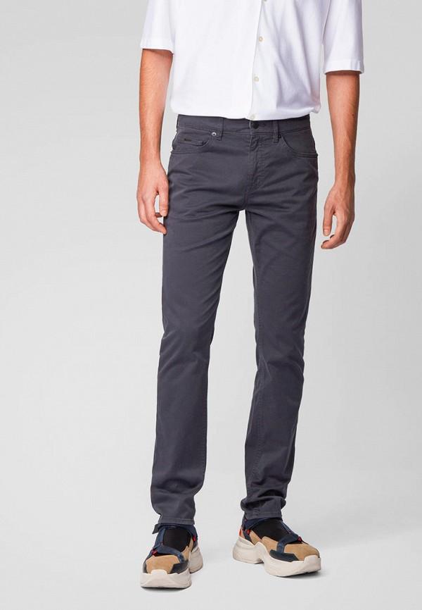 мужские повседневные брюки boss, синие