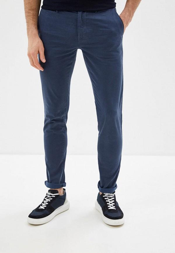 мужские брюки чинос boss, синие