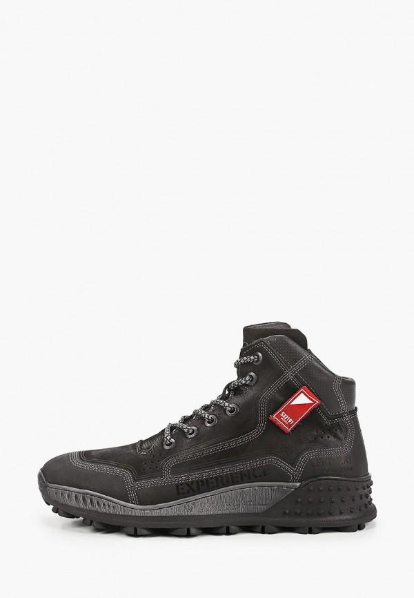 Ботинки Emanuele Gelmetti. Цвет: черный