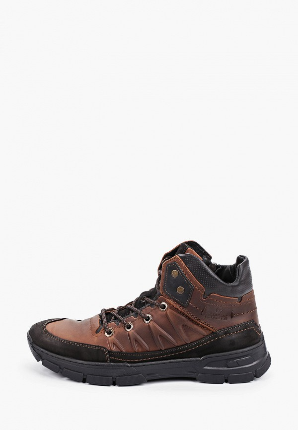 Ботинки Emanuele Gelmetti. Цвет: коричневый