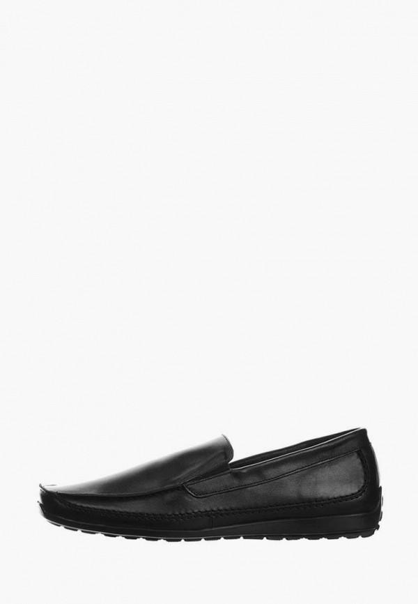 мужские мокасины berg, черные