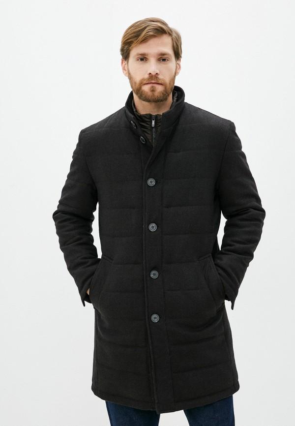 мужское пальто bazioni, коричневое