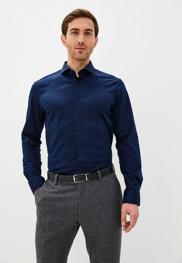 Рубашка Eterna синего цвета